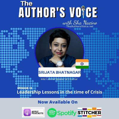 TAV 013 : Leadership Lessons in the Time of Crisis with Srijata Bhatnagar