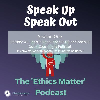 Martin Vogel Speaks Up and Speaks Out