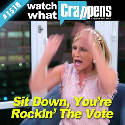 RHONY: Sit Down, You're Rockin' The Vote
