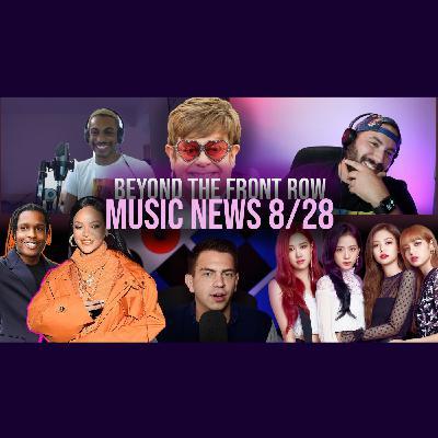018: Rihanna & ASAP, Elton John, & New Music Fri (BLACKPINK x Selena, Calvin x Weeknd)