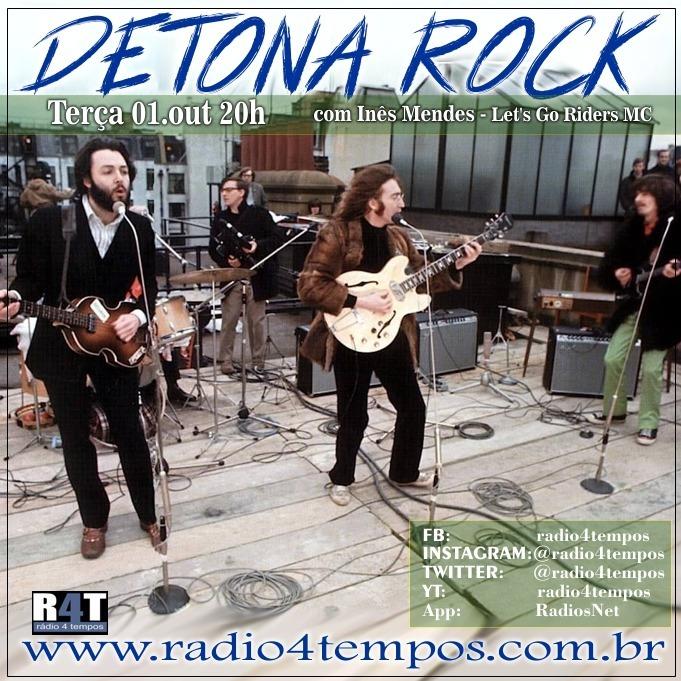 Rádio 4 Tempos - Detona Rock 26:Rádio 4 Tempos