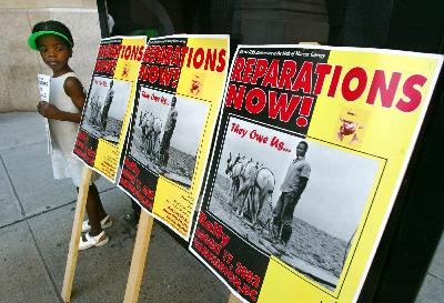 We are finally talking about reparations