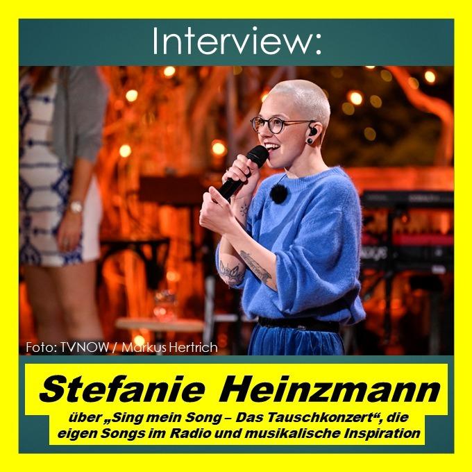 """Stefanie Heinzmann über """"Sing mein Song - Das Tauschkonzert"""" und musikalische Inspiration - Interview"""