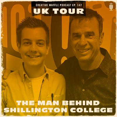 Using your initiative - Andy Shillington - Ep. 147 Creative Waffle
