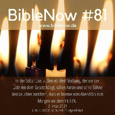 BibleNow #81: 2. Mose 26,36-28,5