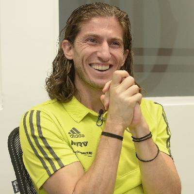 """GE Flamengo #26 com Filipe Luís - """"Não sou rápido, alto, forte. Para competir em alto nível, tenho que ter outra coisa"""""""