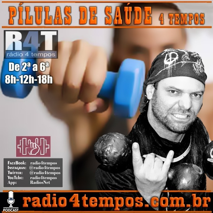 Rádio 4 Tempos - Pílulas de Saúde - 13:Rádio 4 Tempos