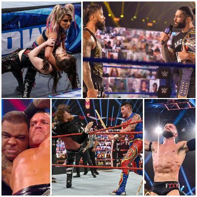 Ep 132 - Spooky Joe-Joes (RAW, SmackDown, & NXT Recaps)