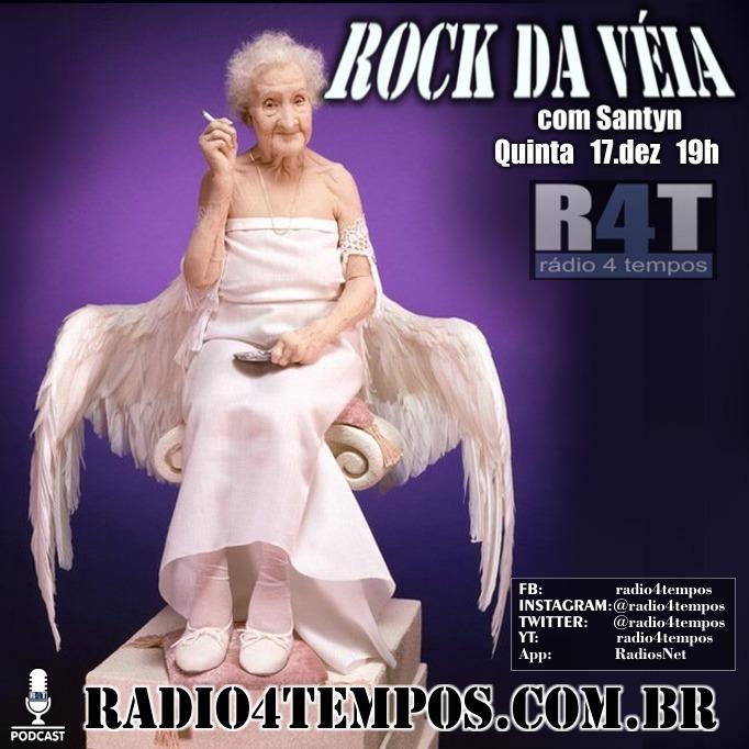 Rádio 4 Tempos - Rock da Véia 91:Silvio Santym