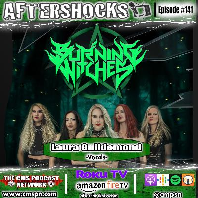 AFTERSHOCKS TV | Burning Witches Vocalist Laura Guildemond