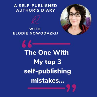 Ep. 10 - My top 3 self-publishing mistakes (and keywords...)