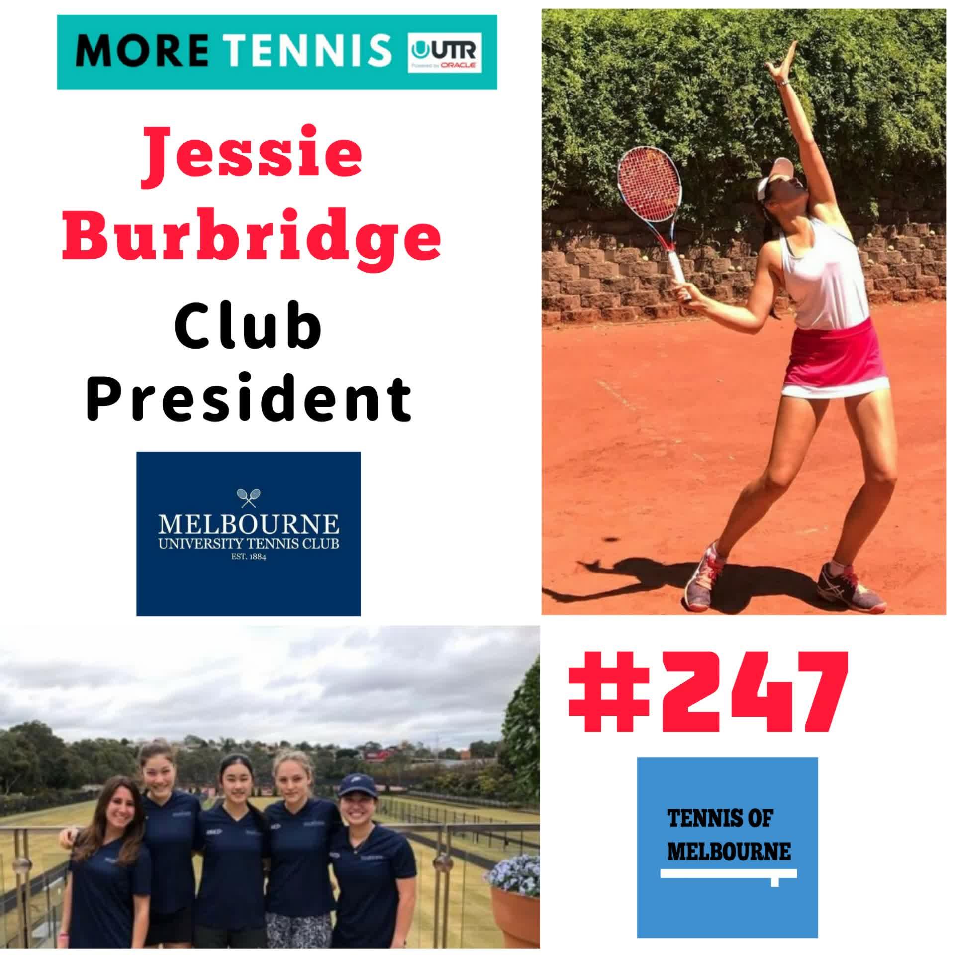 #247 Jessie Burbridge | Club President