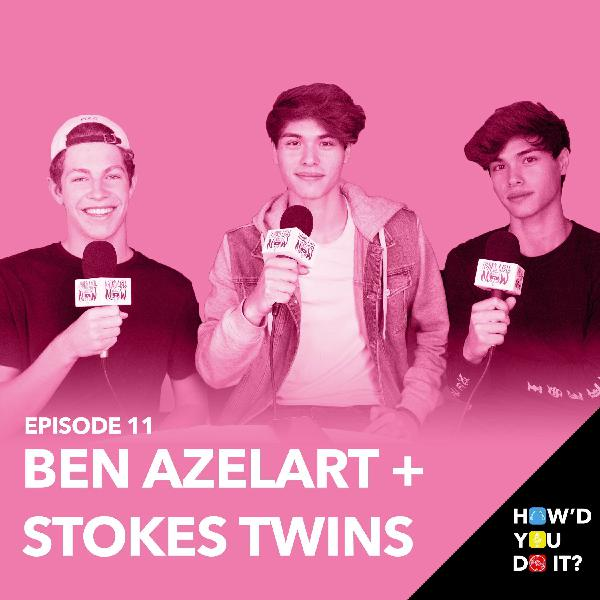 """11: Ben Azelart + The Stokes Twins """"New Compilations & Merch   Episode 11"""