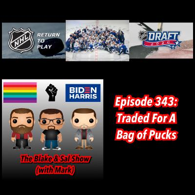 Episode 343: Traded for A Bag of Pucks (Special Guests: Mike Donovan & Scotty Fellows)