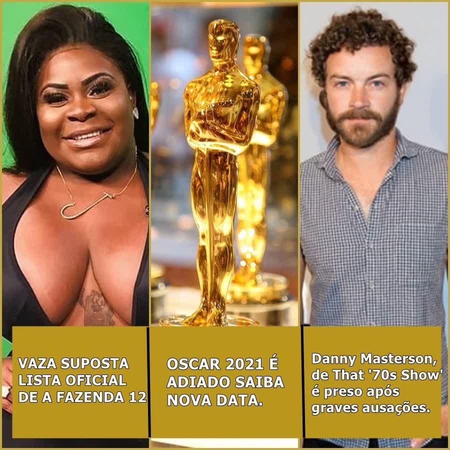 vaza suposta lista de A Fazenda, Oscar 2021 é adiado, ator de That '70s Show é preso e mais| Uai Cast #43