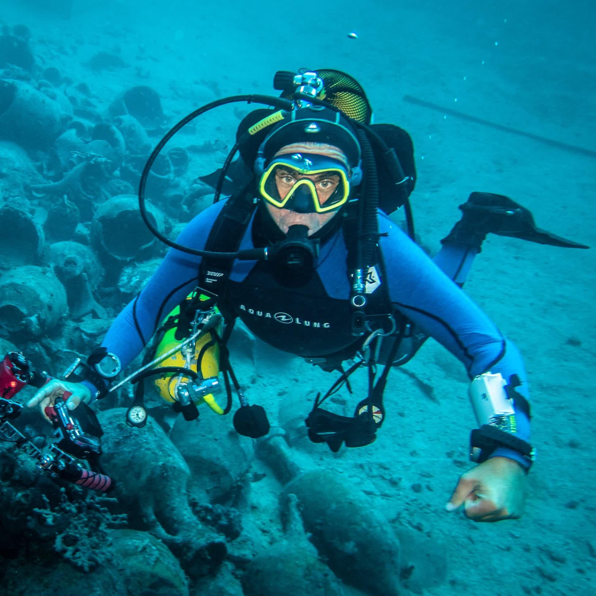 1. Archeologia podwodna u wybrzeży Chorwacji - Mariusz Milka