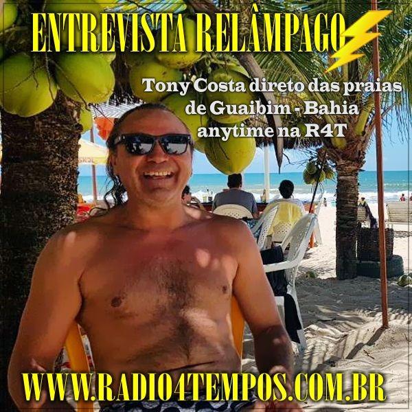 Rádio 4 Tempos - Entrevista Relâmpago 30
