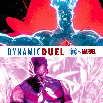 Captain Atom vs Wonder Man