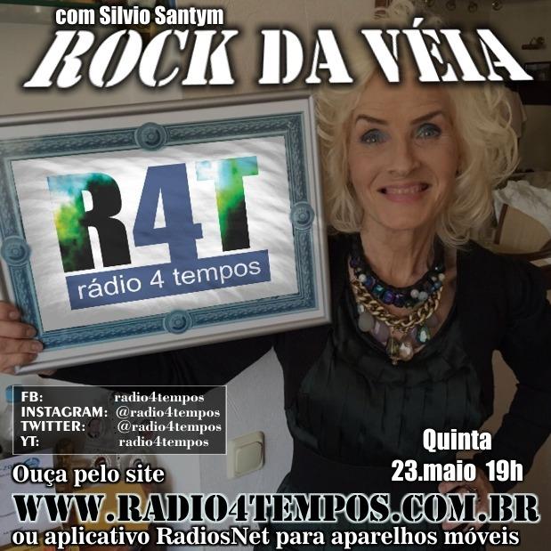 Rádio 4 Tempos - Rock da Véia 57:Rádio 4 Tempos