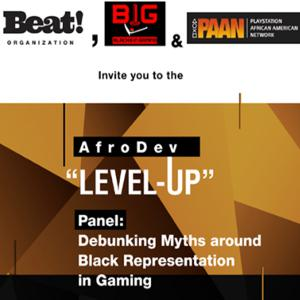 """Echoes from the """"Debunking Myths around Black Representation in Gaming"""" at GDC - A Conversation with"""