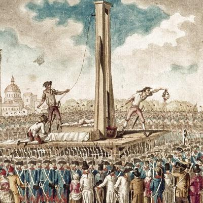 La invención de la Guillotina durante la Revolución Francesa