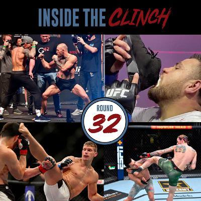 Round 32- UFC 264: Poirier vs. McGregor 3 Preview