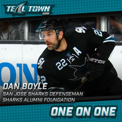 One on One with Dan Boyle - former San Jose Sharks Defenseman