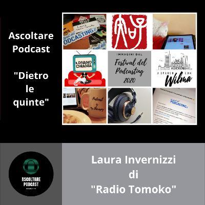 """Radio, fotografia e Giappone con Laura Invernizzi di """"Radio Tomoko"""" (Dietro le quinte di """"Ascoltare Podcast"""")"""