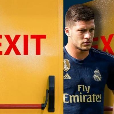 Jovic on way back to Eintract Frankfurt, Militao to Spurs