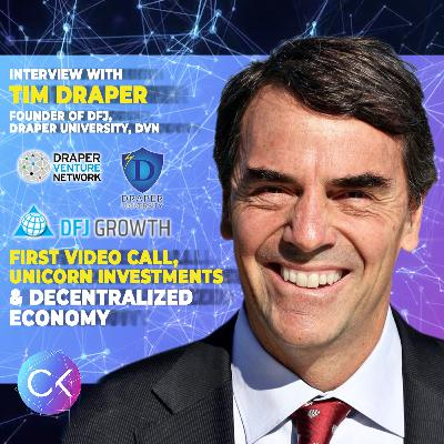 ☎️First Video Call, Unicorn investments & Decentralized Economy (w Tim Draper & Constantin Kogan)