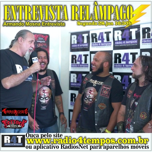 Rádio 4 Tempos - Entrevista Relâmpago 71
