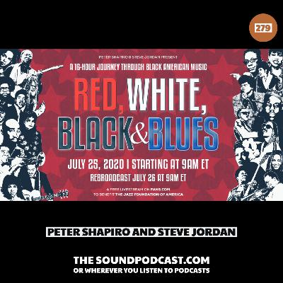 Peter Shapiro & Steve Jordan - Red, White, Black & Blues