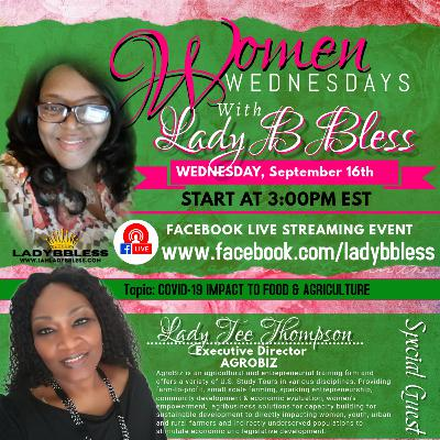 #10 September 16, 2020 - (Lady Tee Thompson) Women Wednesdays