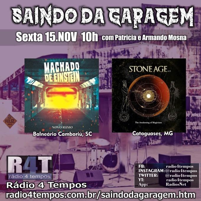Rádio 4 Tempos - Saindo da Garagem 05:Rádio 4 Tempos