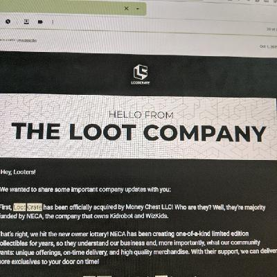 Loot Crate Is Now The Loot Company