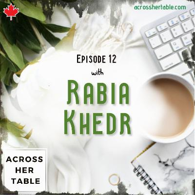 """Ep#12: Rabia Khedr - """"Being blind, I see things differently"""""""