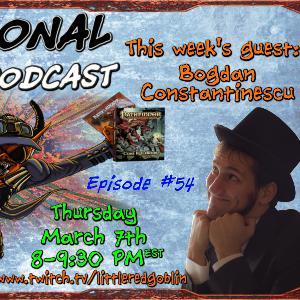 Episode 54 - Bogdan Constantinescu!