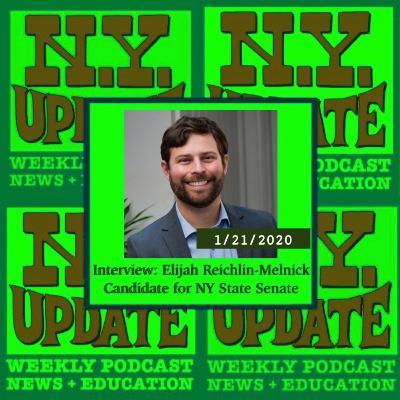 Interview: NY State Senate candidate Elijah Reichlin-Melnick on education