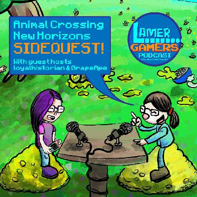 Animal Crossing New Horizons- SIDEQUEST - The Lamer Wives Take Over!