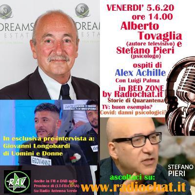 """Alberto Tovaglia, Stefano Pieri e Giovanni Longobardi ospiti di Alex Achille in """"RED ZONE"""" by Radiochat.it"""