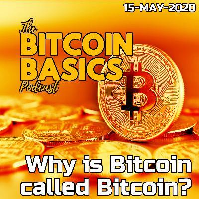#17 Why is Bitcoin called Bitcoin?   Bitcoin Basics (50)