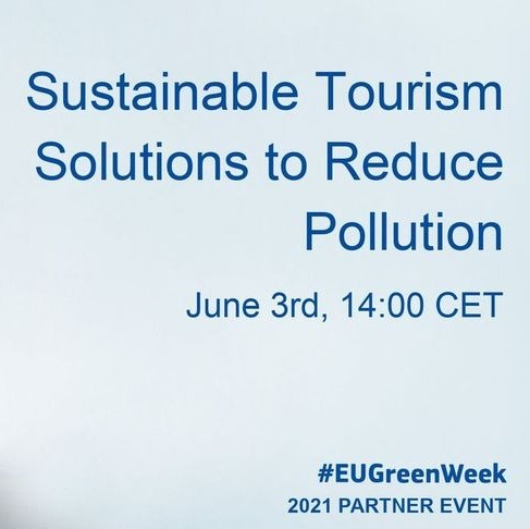 Webinar: Sustainable Tourism Solutions to Reduce Pollution #EUGreenWeek