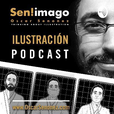 ¡El 2 de junio 2020 se viene Sen! Imago, un Podcast sobre ilustración!