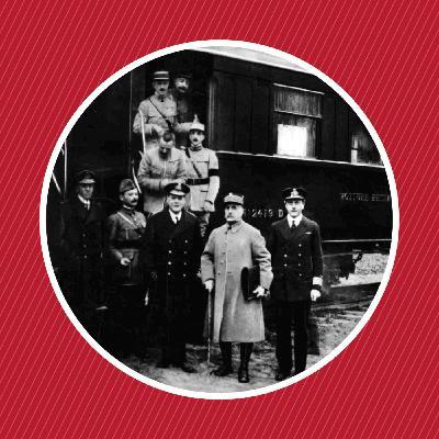 1918 : La signature de l'armistice dans un wagon-restaurant