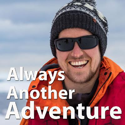 28. Dr Max Holloway. Wild swimming and Antarctic adventures