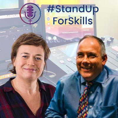 #StandUpForSkills Kirstie Donnelly and Robert Halfon discuss the new City & Guilds Recovery and Resilience report
