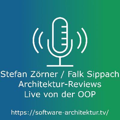 Stefan Zörner / Falk Sippach: Architektur-Reviews - Live von der OOP mit Lisa Moritz