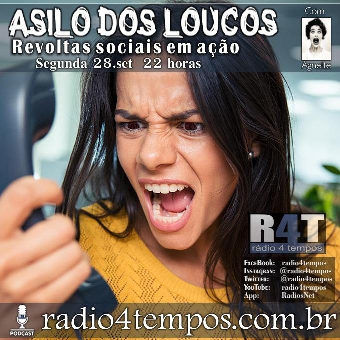 Rádio 4 Tempos - Asilo dos Loucos 225:Rádio 4 Tempos