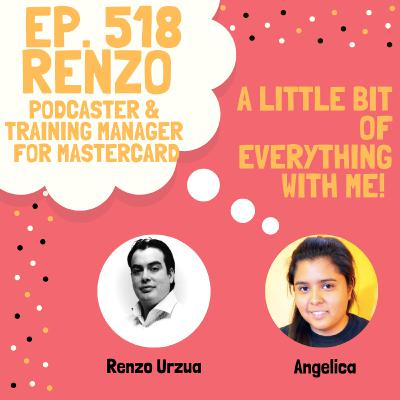 Renzo Urzua - Podcaster & Training Manager for Mastercard