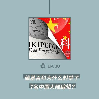 【第30期】维基百科为什么封禁了7名中国大陆编辑?